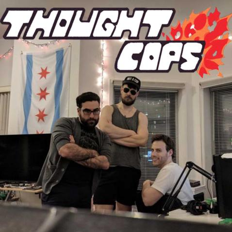 Thought Cops episode 109 thumbnail with Joey Agliata of Jump and Shoot: a Mega Man Podcast