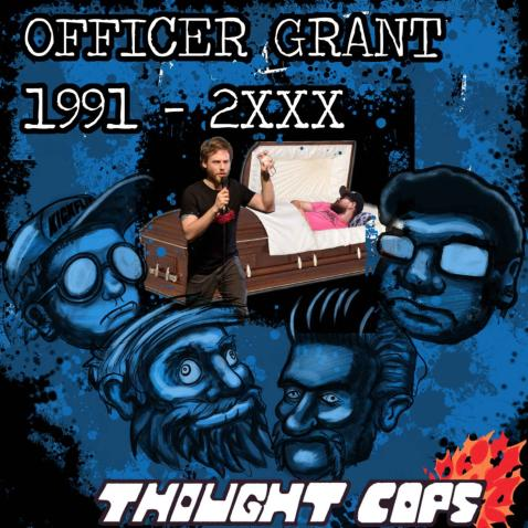 Thought Cops episode featuring Roast Mortem podcast