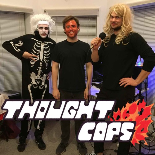 brandon kirkman of podzooky on thought cops halloween episode